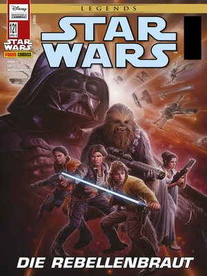 cover image of Star Wars Comicmagazin, Band 121--Die Rebellenbraut