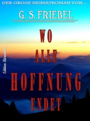 cover image of Wo alle Hoffnung endet