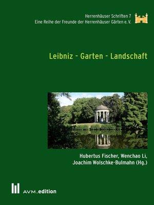 cover image of Leibniz--Garten--Landschaft