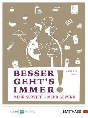 cover image of Besser geht's immer!