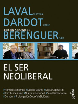 cover image of El ser neoliberal