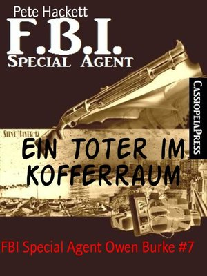 cover image of Ein Toter im Kofferraum