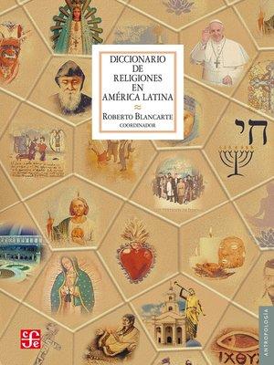 cover image of Diccionario de religiones en América Latina