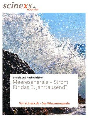 cover image of Meeresenergie