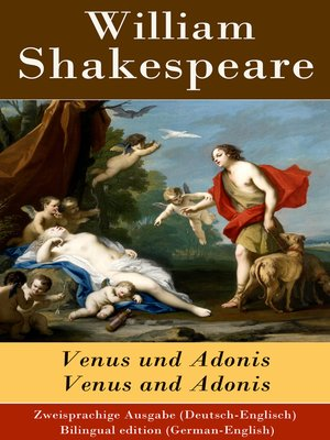 cover image of Venus und Adonis / Venus and Adonis--Zweisprachige Ausgabe (Deutsch-Englisch) / Bilingual edition (German-English)