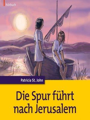 cover image of Die Spur führt nach Jerusalem