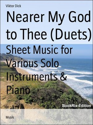 cover image of Nearer My God to Thee (Duets)