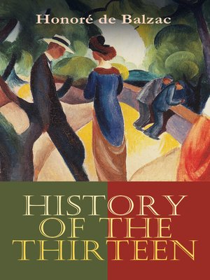 cover image of History of the Thirteen