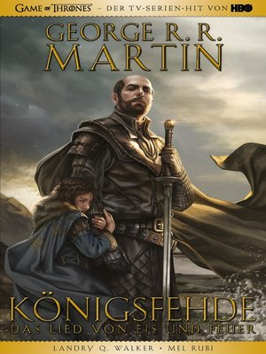 cover image of Game of Thrones Graphic Novel--Königsfehde 1