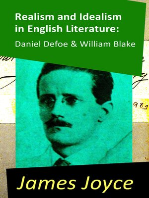cover image of Realism and Idealism in English Literature