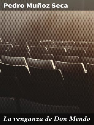 cover image of La venganza de Don Mendo