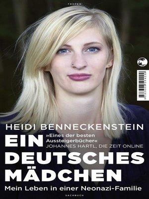 cover image of Ein deutsches Mädchen