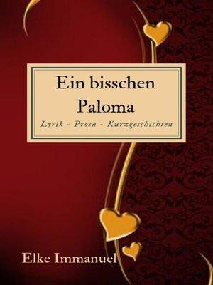 cover image of Ein bisschen Paloma