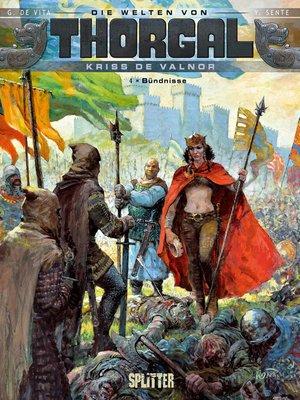 cover image of Die Welten von Thorgal--Kriss de Valnor. Band 4