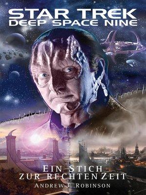 cover image of Ein Stich zur rechten Zeit