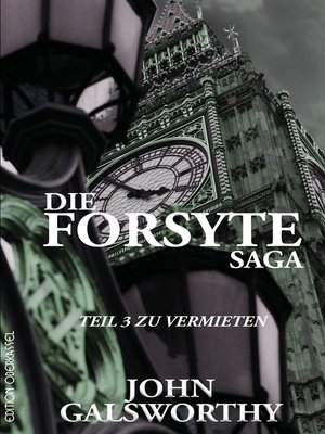 cover image of Die Forsyte Saga