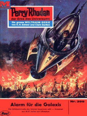 cover image of Perry Rhodan 399