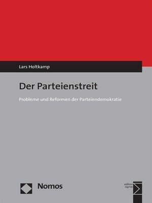 cover image of Der Parteienstreit