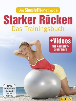 cover image of Die SimpleFit-Methode--Starker Rücken