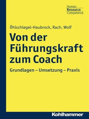 cover image of Von der Führungskraft zum Coach