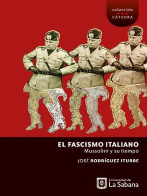 cover image of El fascismo italiano