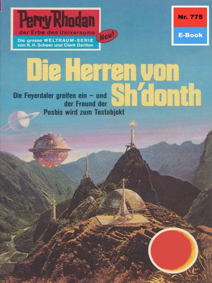 cover image of Perry Rhodan 775