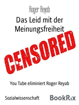 cover image of Das Leid mit der Meinungsfreiheit