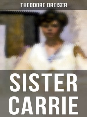 cover image of SISTER CARRIE