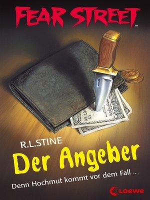 cover image of Fear Street 59--Der Angeber