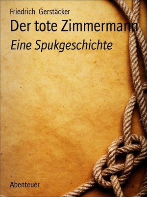 cover image of Der tote Zimmermann
