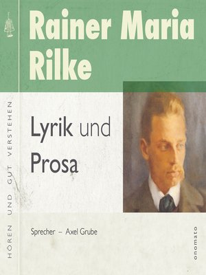 cover image of Rainer Maria Rilke − Lyrik und Prosa