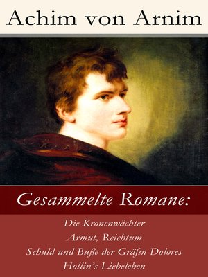 cover image of Gesammelte Romane