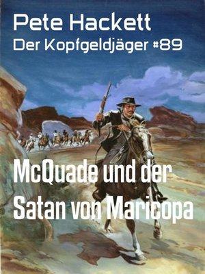 cover image of McQuade und der Satan von Maricopa