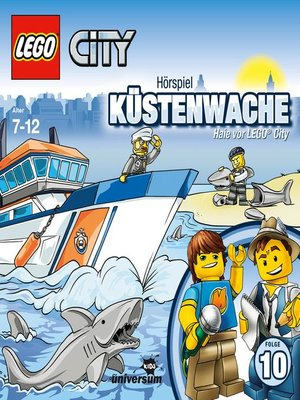 cover image of Folge 10--Küstenwache--Haie vor LEGO City