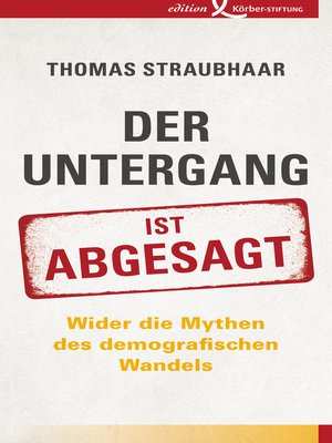 cover image of Der Untergang ist abgesagt
