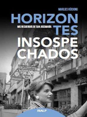cover image of Horizontes insospechados