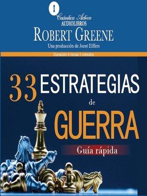 cover image of 33 estrategias de guerra