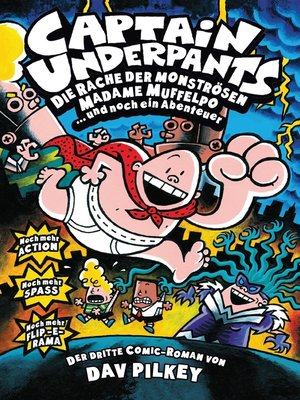 cover image of Captain Underpants, Band 3