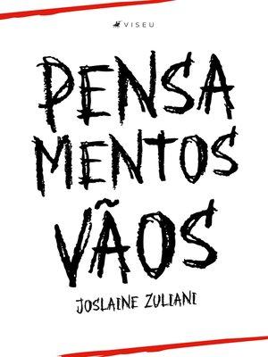 cover image of Pensamentos vãos