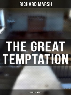 cover image of The Great Temptation (Thriller Novel)