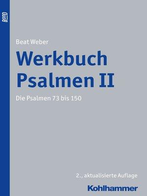cover image of Werkbuch Psalmen II