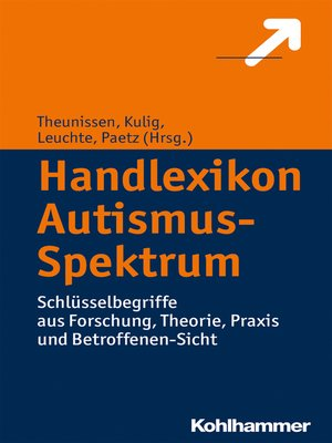 cover image of Handlexikon Autismus-Spektrum