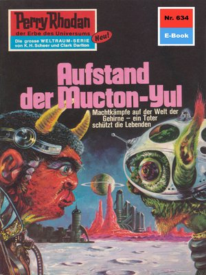 cover image of Perry Rhodan 634