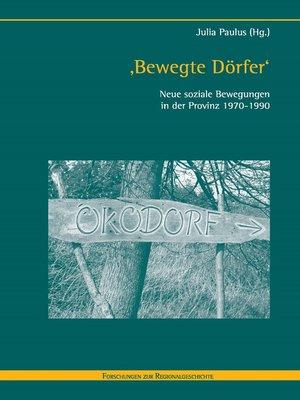cover image of 'Bewegte Dörfer'