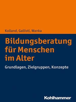 cover image of Bildungsberatung für Menschen im Alter