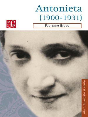 cover image of Antonieta (1900-1931)
