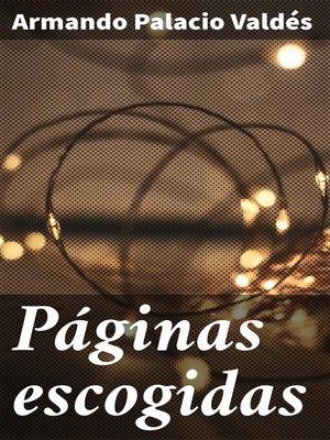 cover image of Páginas escogidas