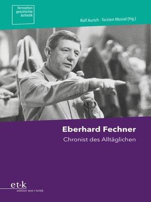 cover image of Eberhard Fechner