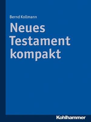 cover image of Neues Testament kompakt