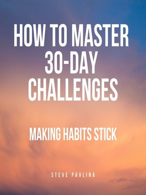 cover image of How to Master 30-Day Challenges